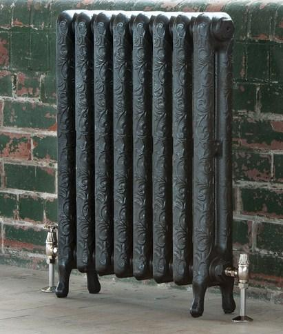 The Art Nouveau radiator <br>height 760 mm built to<br>lenght required
