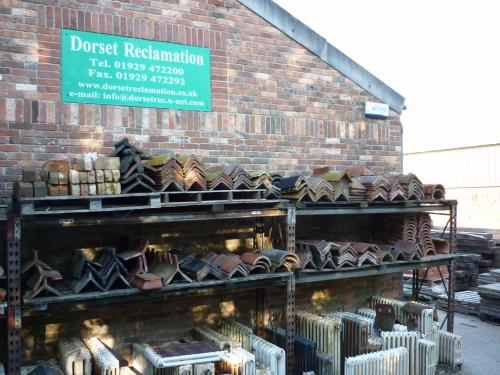 Reclaimed Ridge Tiles always in Stock
