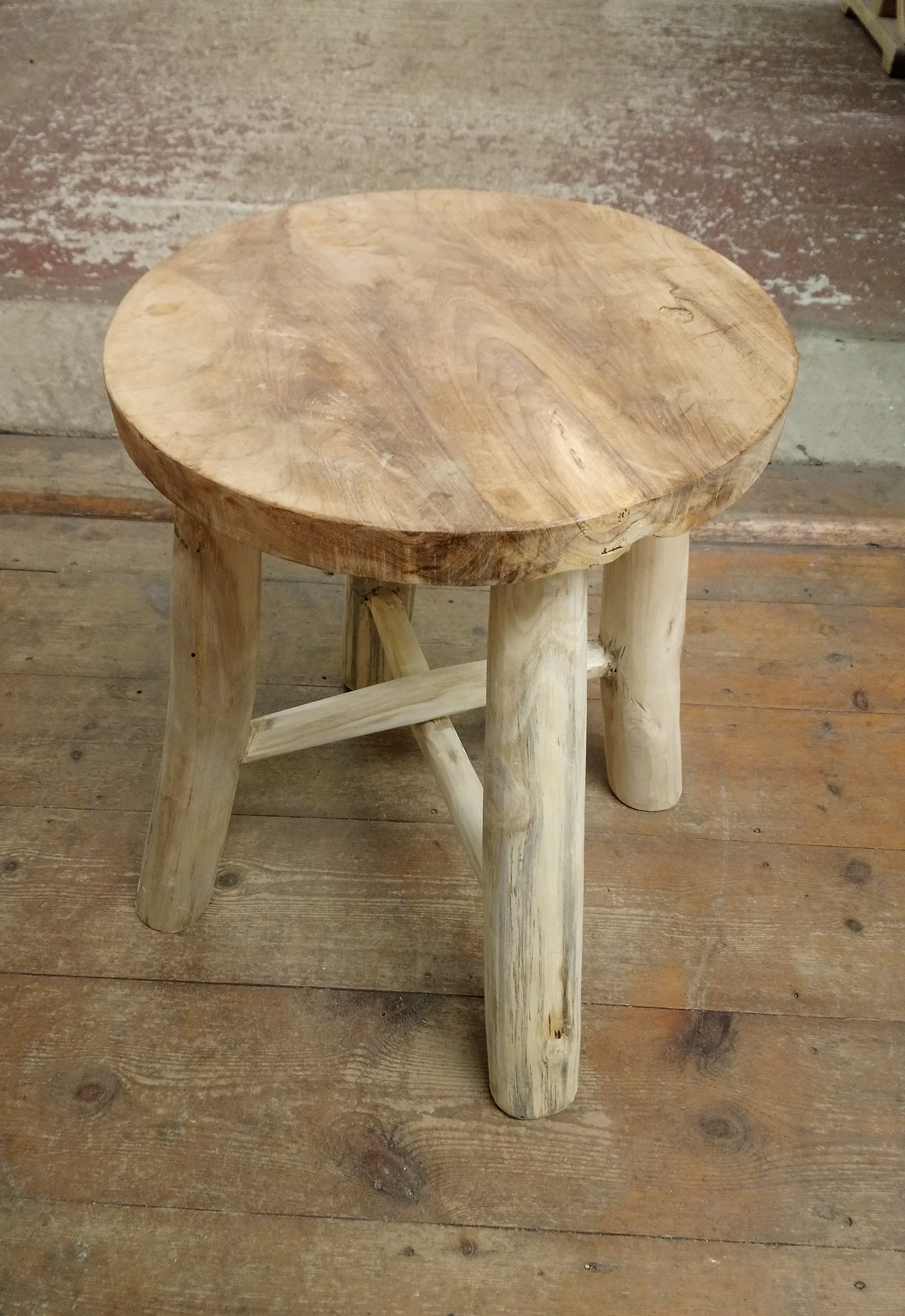 """<p>Wooden Stool</p><p>Top 14"""" x 18"""" High</p><p>x4 Available</p>"""