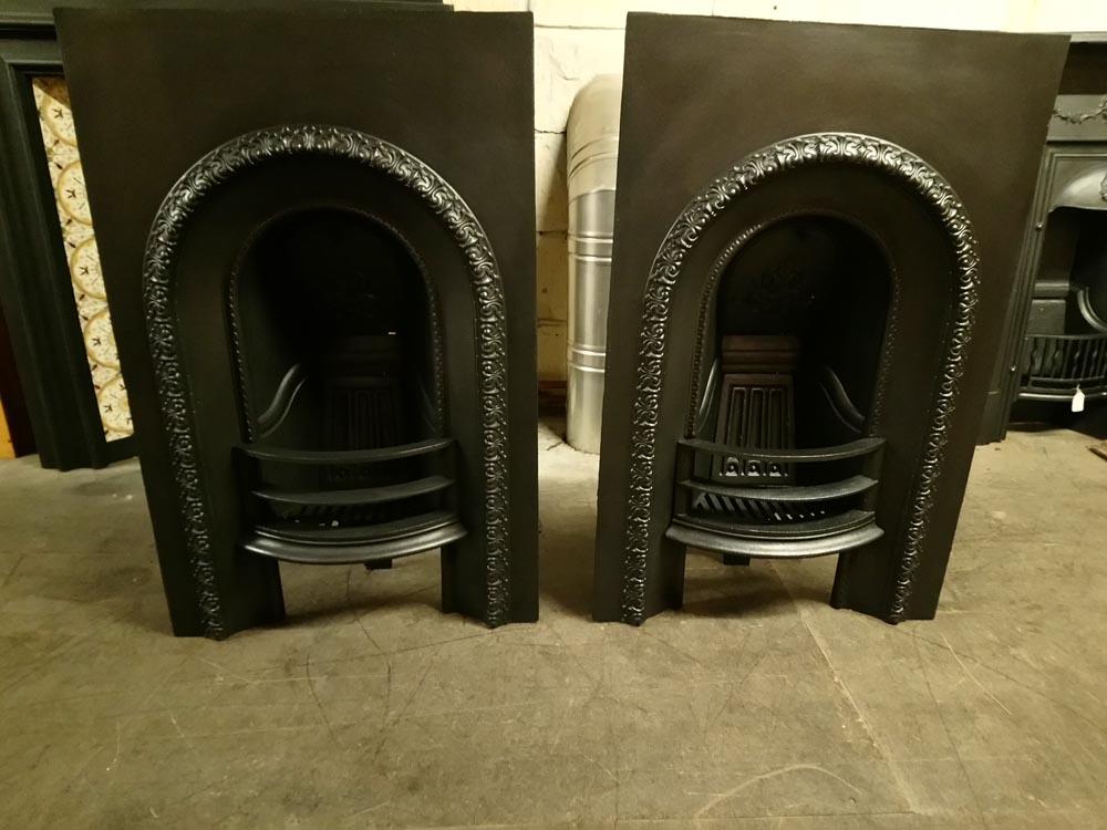 Pair Fireplaces