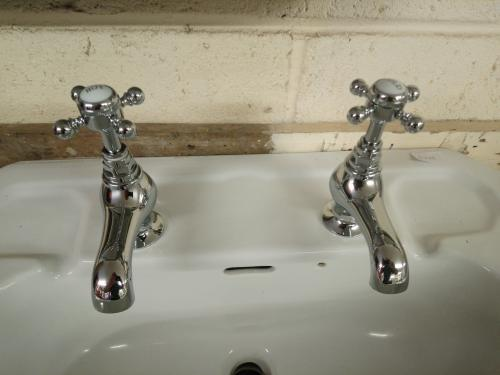 Chrome Basin Taps<br>Matching Bath Taps also available