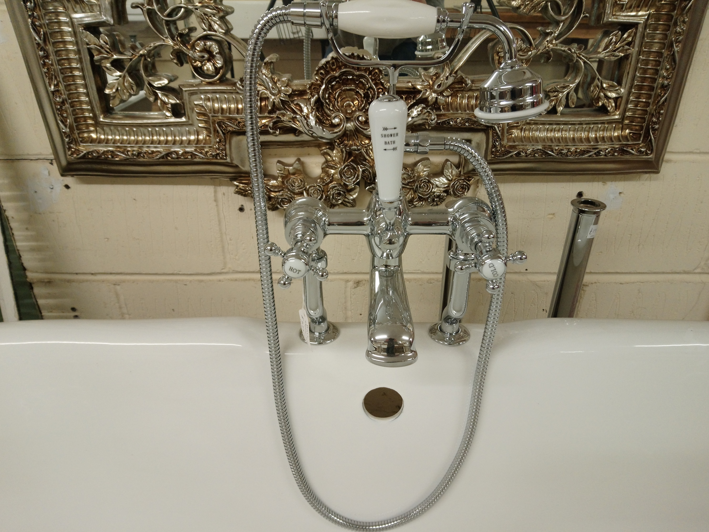 <p>Chrome Shower Bath Mixer