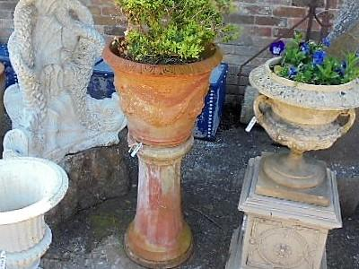Terracotta Planter with Stand