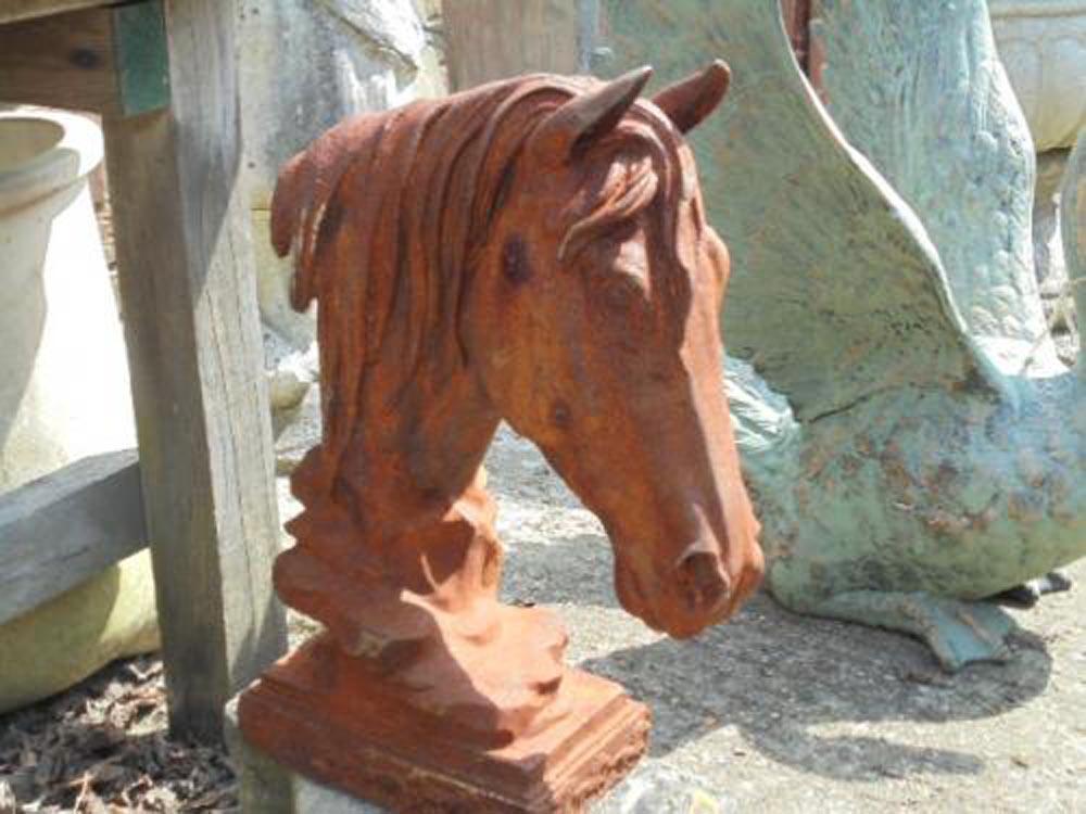 Cast Iron Horse Head
