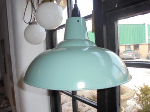 Hanging Pendant light in French Grey