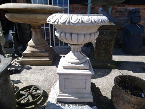 "Royal Doulton Tazza<br>Made from Reconstituted Stone<br>29"" High 19"" Diameter"