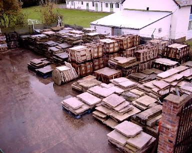 We stock a large amount of Reclaimed and New Flagstone