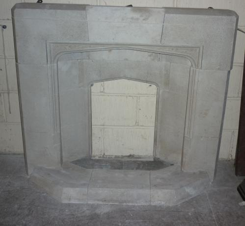 Minster fireplace<br>122cm wide 105cm high