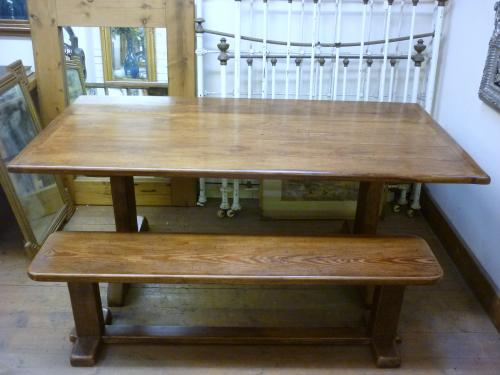 Kitchen Table and Bench Made to Order