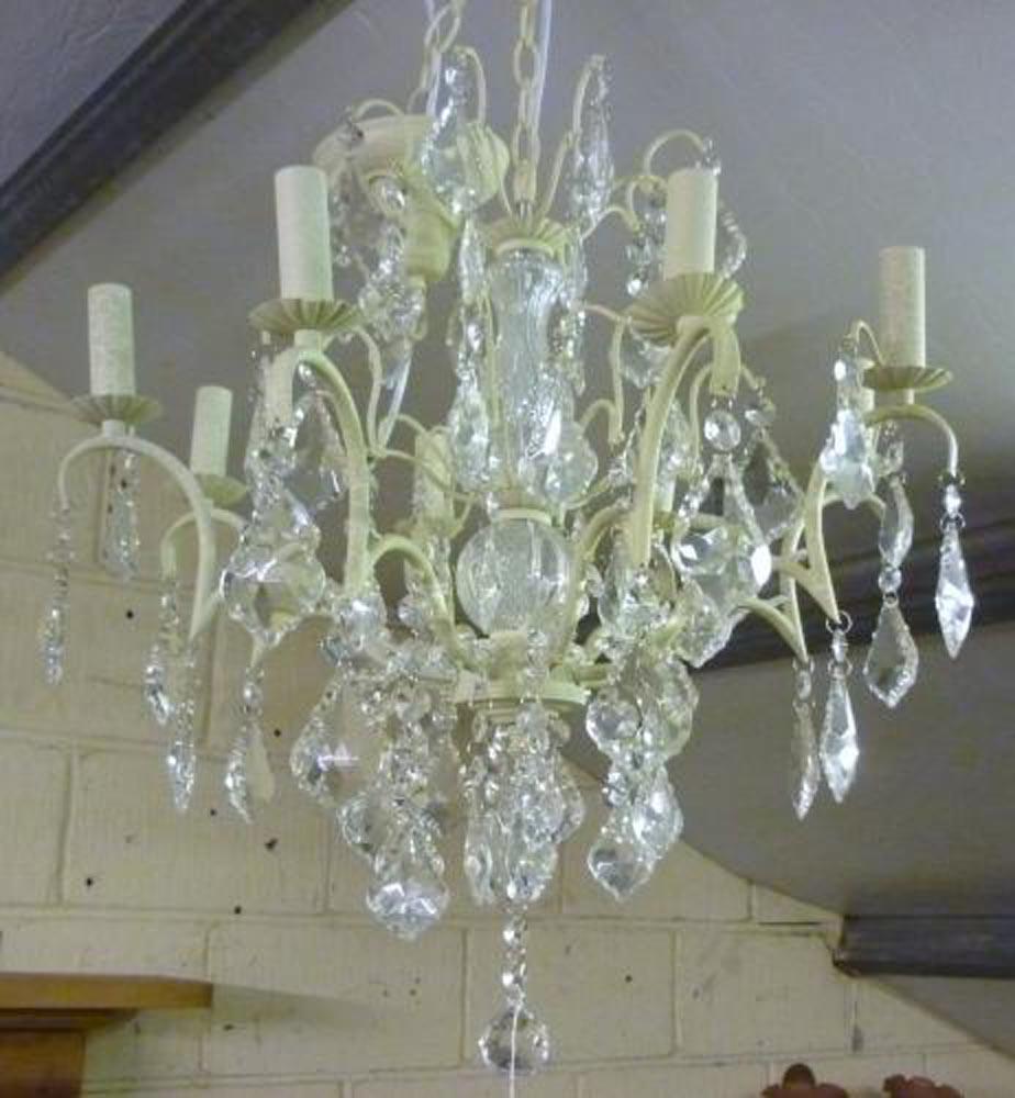 8 arm chandelier ,width 62cm hight 75cm