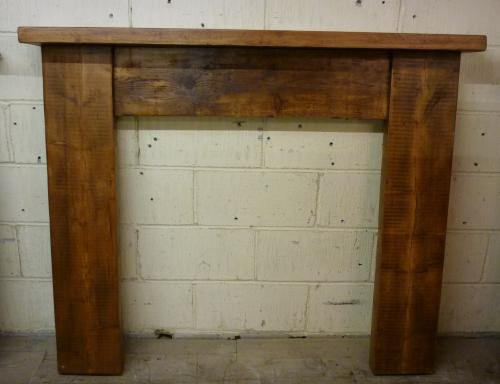 Reclaimed Pine surround<br>made to order