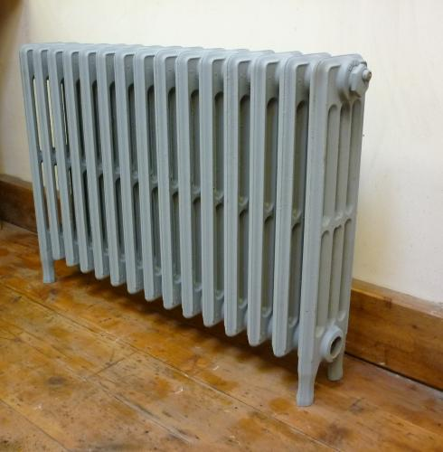 "24"" High  34"" Long<br>4 Column Crane Radiator<br>Tested,Blasted and primed"