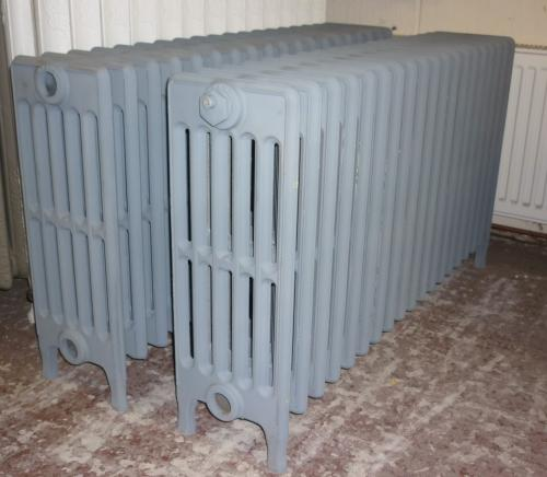 "24"" High  34"" Long <br>6 Column Crane Radiator<br>Tested,Blasted and primed"